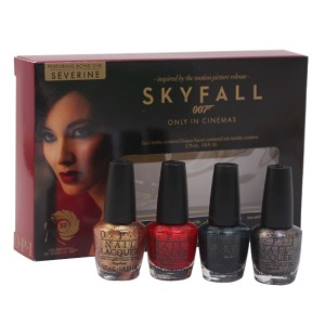 OPI 007 BOND GIRL SKYFALL SET